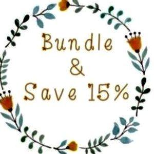 Bundle and save 15%!